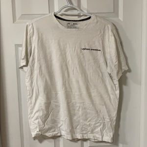 Under Armour white t shirt